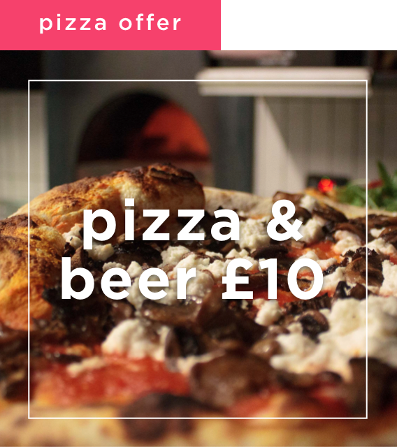 Pizza and Beer Offer